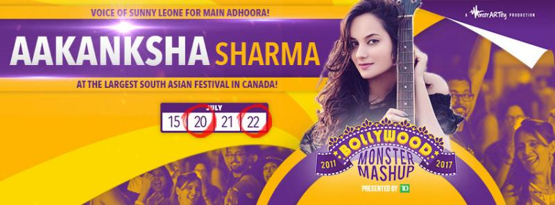 Aakanksha Sharma in Canada
