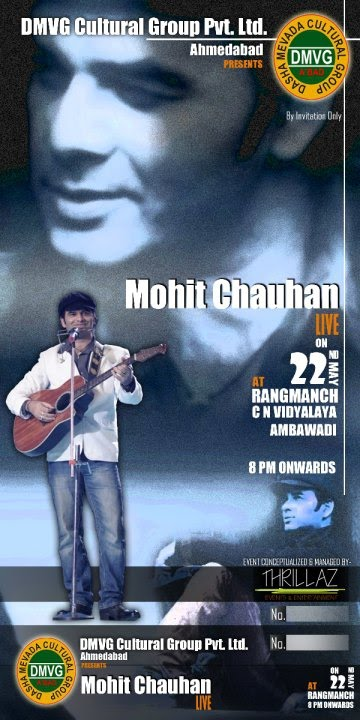 Mohit chauhan, Ahmedabad